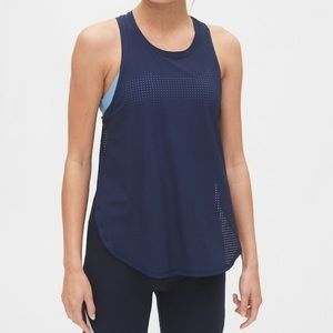 Gap fit mesh split side dry fit tank NWT